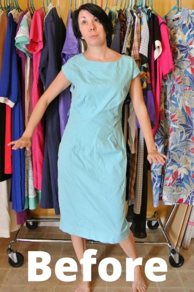 When I Dip You Dip We Dip Dye Dress Refashion 2
