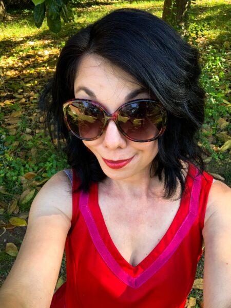 refashionista selfie