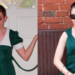 Green with Envy: Ruched Shoulder Dress Refashion 19