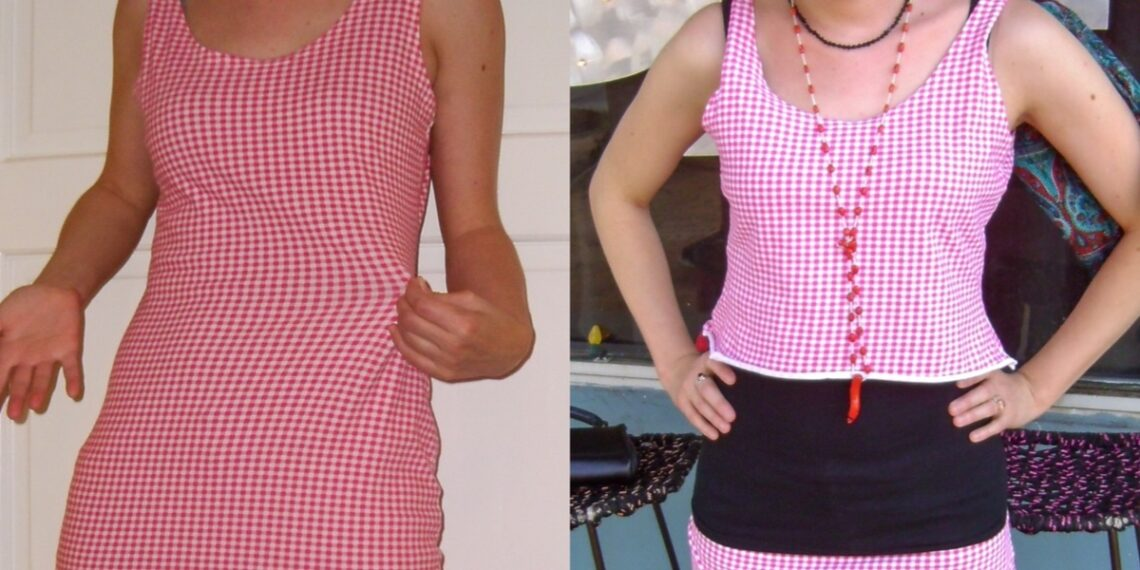 Day 51: Tablecloth Dress to Two Piecer 1