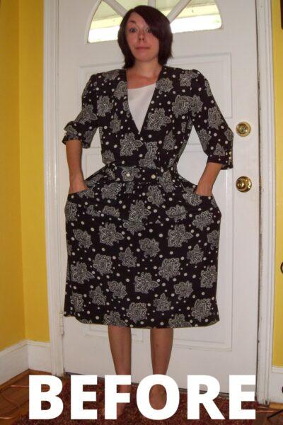 Day 45: From '80s Dress to Sleeveless Minidress 2