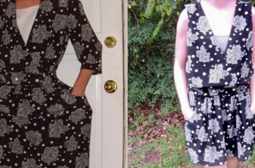 Day 45: From '80s Dress to Sleeveless Minidress 2
