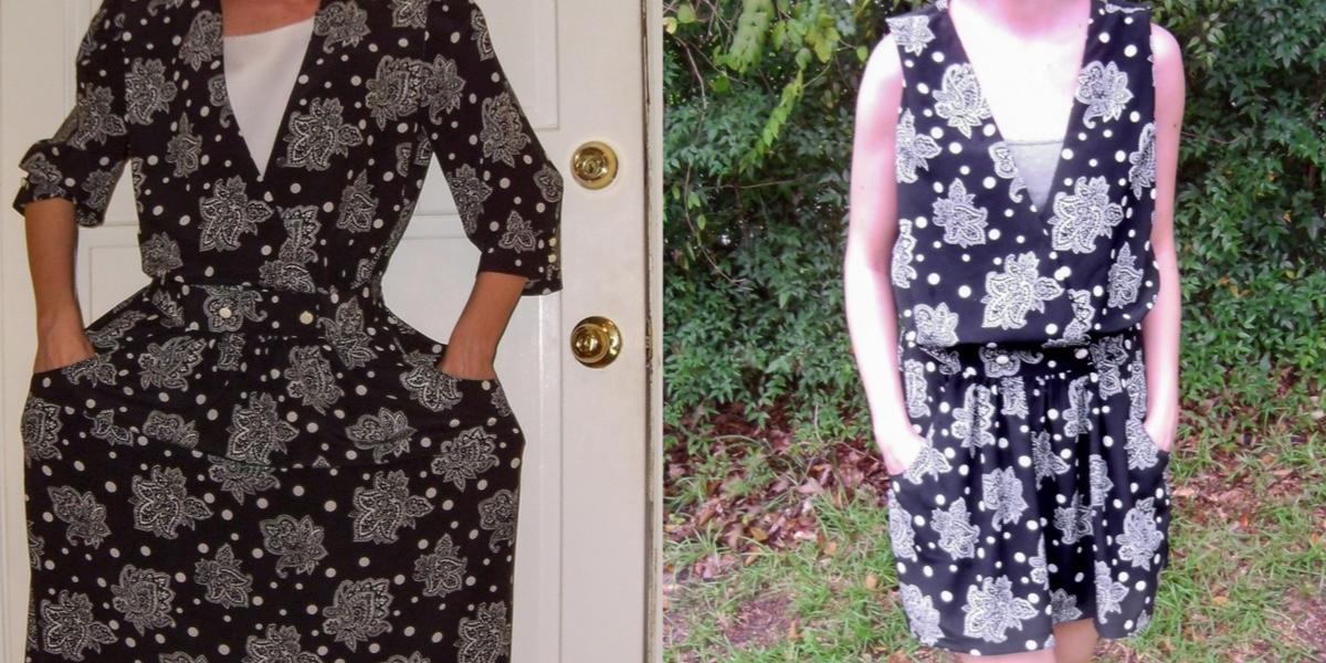 Day 45: From '80s Dress to Sleeveless Minidress 1