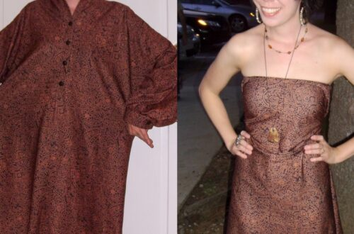 Day 65:  The Easiest No-Sew Dress Refashion Ever 17