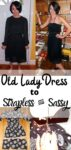 Day 72: Refashioning a Little Black Mess to a Little Black Dress 3