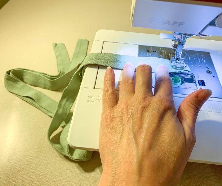 stitching sash for dress