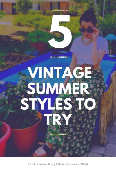 5 Vintage Summer Outfits to Try 8