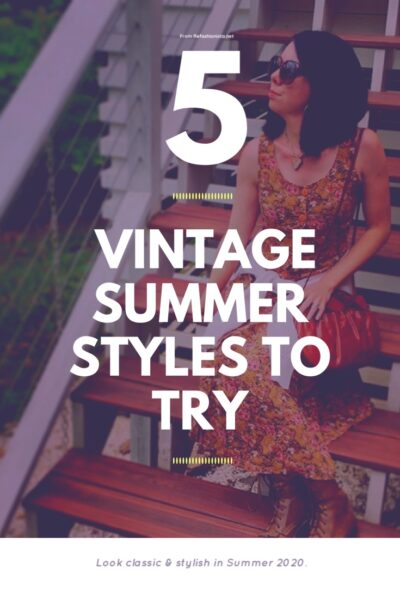 5 Vintage Summer Outfits to Try 9