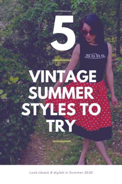 5 Vintage Summer Outfits to Try 10