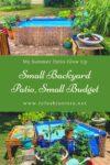 Small Backyard Patio, Small Budget: My Summer Patio Glow Up 1