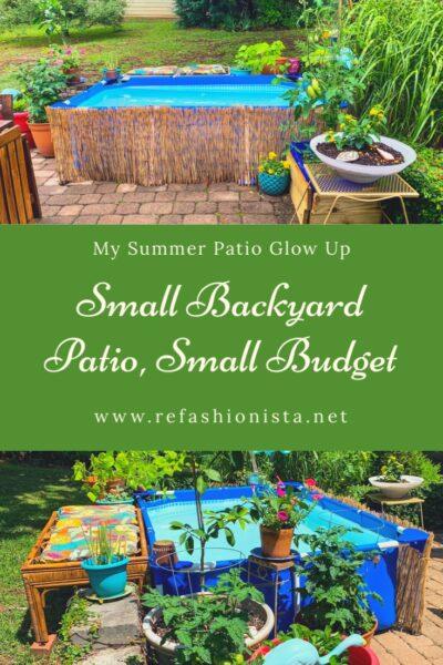 Small Backyard Patio, Small Budget: My Summer Patio Glow Up 4