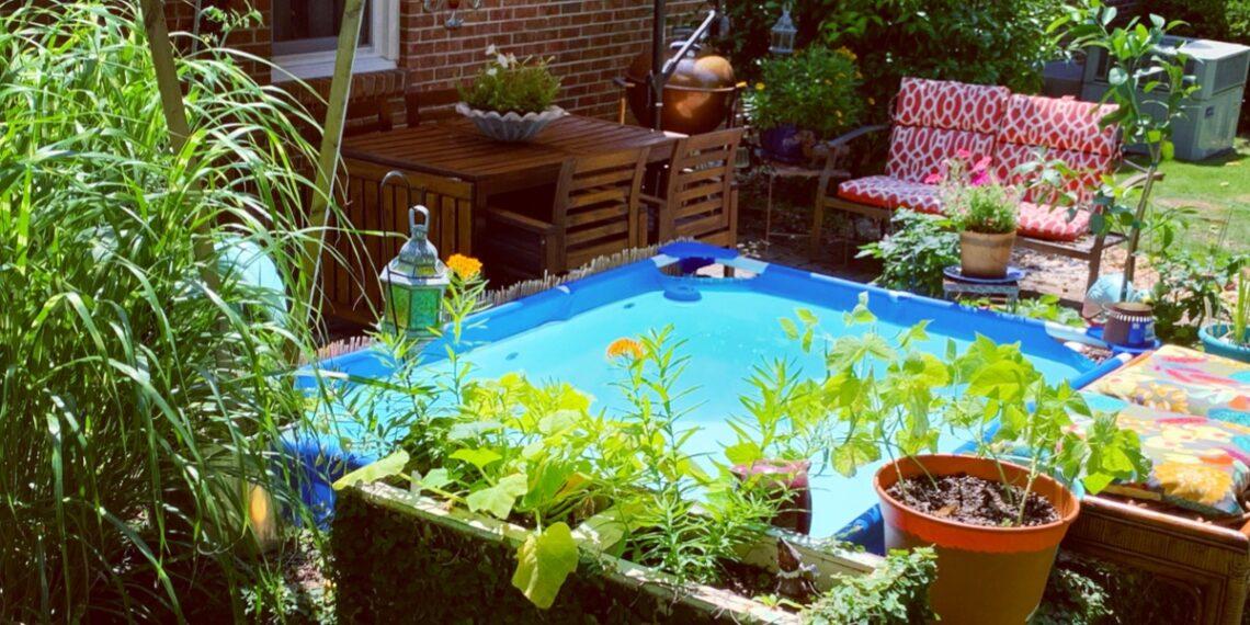 Small Backyard Patio, Small Budget: My Summer Patio Glow Up