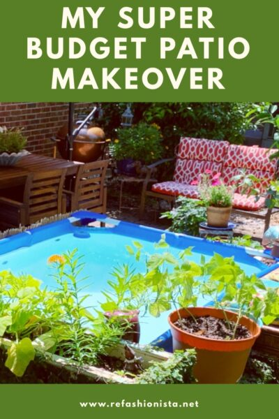 Small Backyard Patio, Small Budget: My Summer Patio Glow Up 6