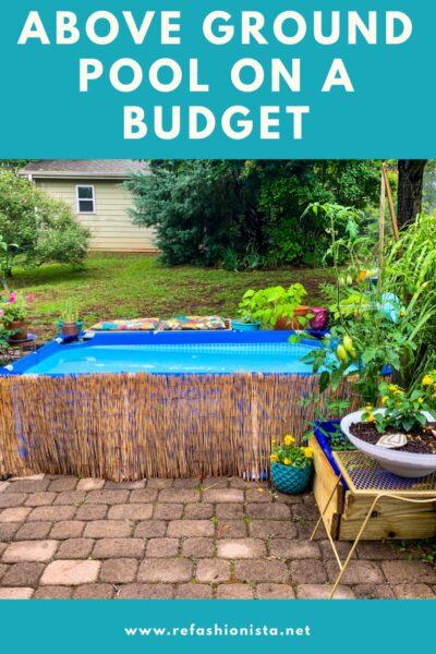Small Backyard Patio, Small Budget: My Summer Patio Glow Up 5