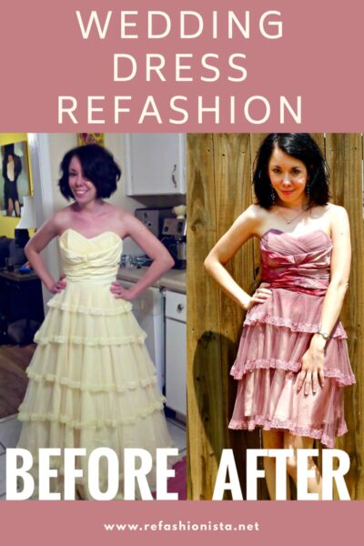 Day 366:  The End? A Wedding Dress Refashion 2