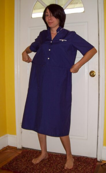 Mike Nelson-Inspired Dress Refashion Before