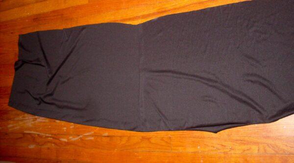 bottom scrap from dress