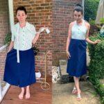 Easy DIY Halter Dress Refashion (No Pattern Needed!) 1