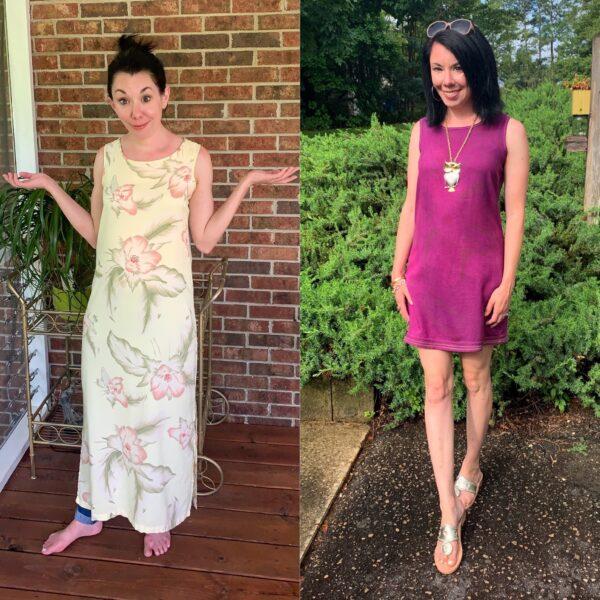 A Decorative Zigzag Hem & How to Dye Washable Silk 1