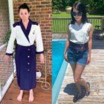 Yacht Rock Nautical Dress to Top Refashion 2