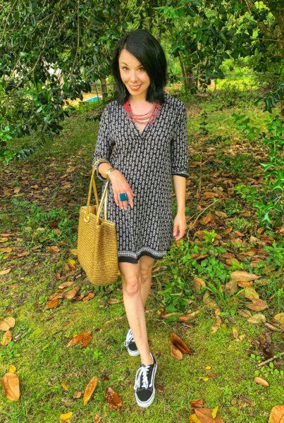 jillian in tunic dress