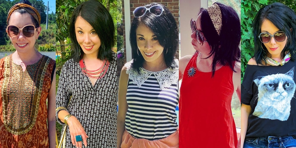 refashionista Thrift Store Style: My Casual Secondhand Summer