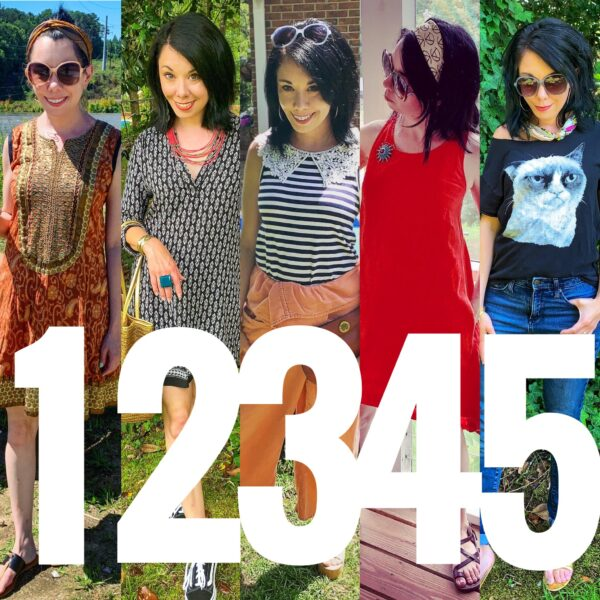 Thrift Store Style: My Casual Secondhand Summer