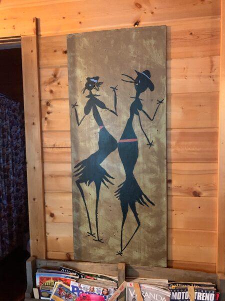 Cabin art!