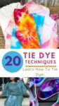 20 Tie-Dye Techniques to Try this Summer 2
