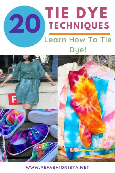 20 Tie-Dye Techniques to Try this Summer 3