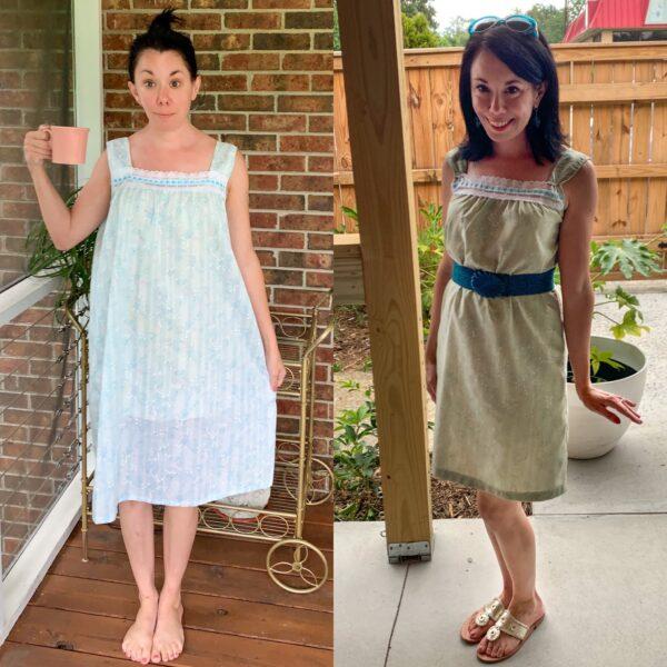 Vintage Nightgown Refashion 5