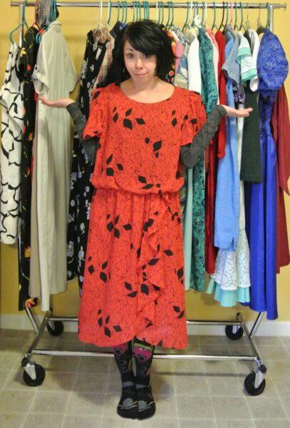 A Strapless Dress DIY & A Breakup 6