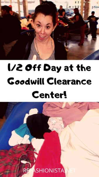 Half-Off Day at The Goodwill Clearance Center! 3