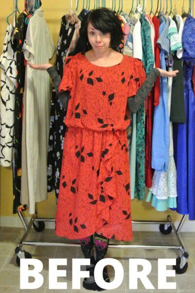 A Strapless Dress DIY & A Breakup 4