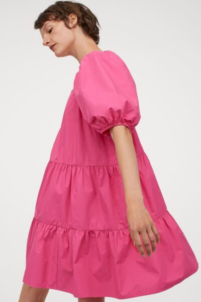 H&M Puff Sleeved Dress