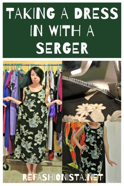 Sewing with a Serger: My First Impressions 5