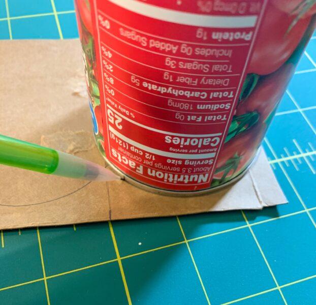 tracing scallops