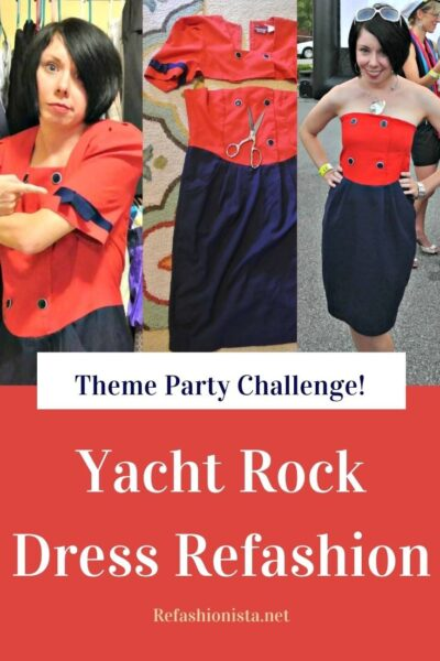 Yacht Rock Dress Refashion 5