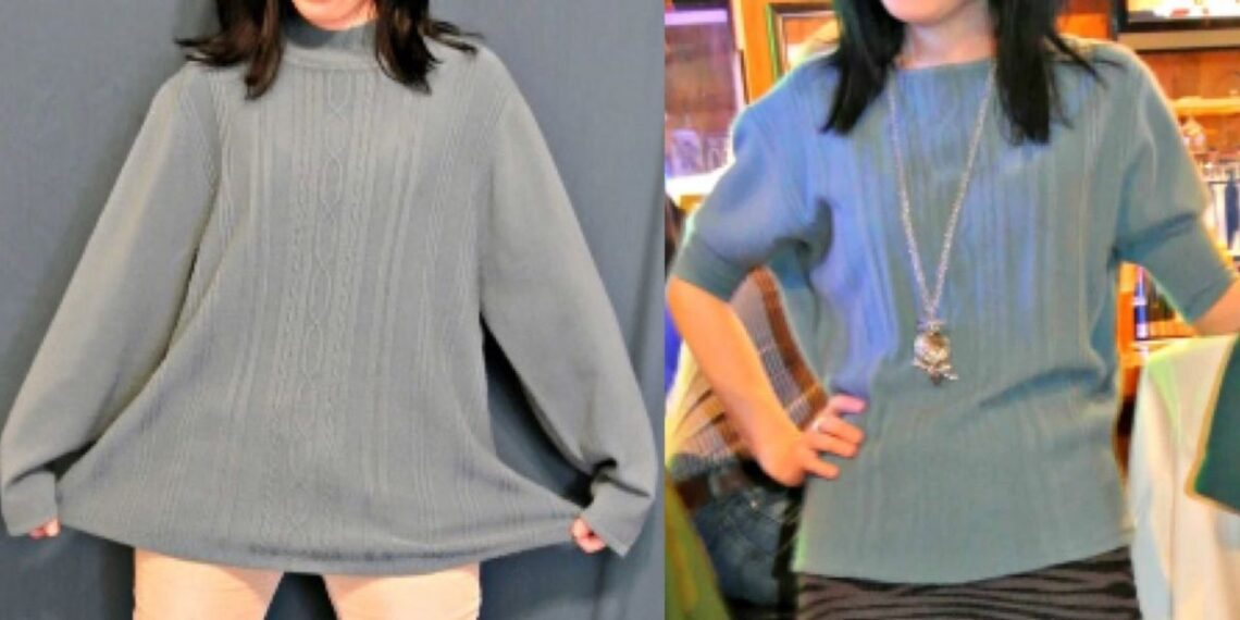 Eileen Fisher Sweater Refashion