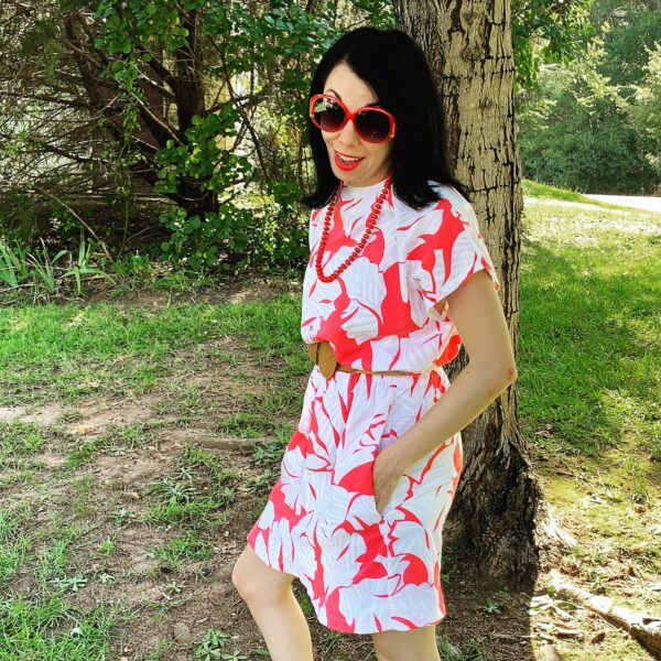 refashionista how to add pockets to a dress after