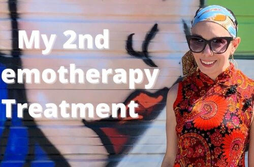 My Second Chemotherapy Treatment 5