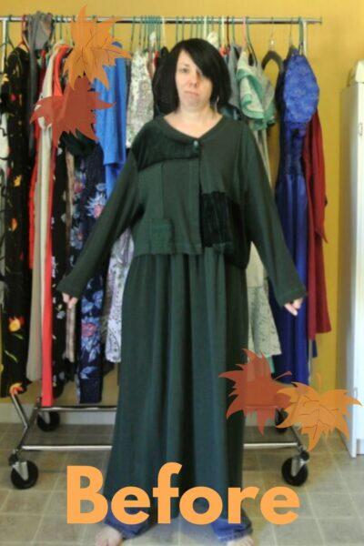 Trace & Stitch Dress Refashion 9
