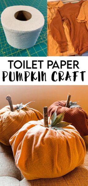 Toilet Paper Pumpkins:  Easy DIY Fall Decor 8