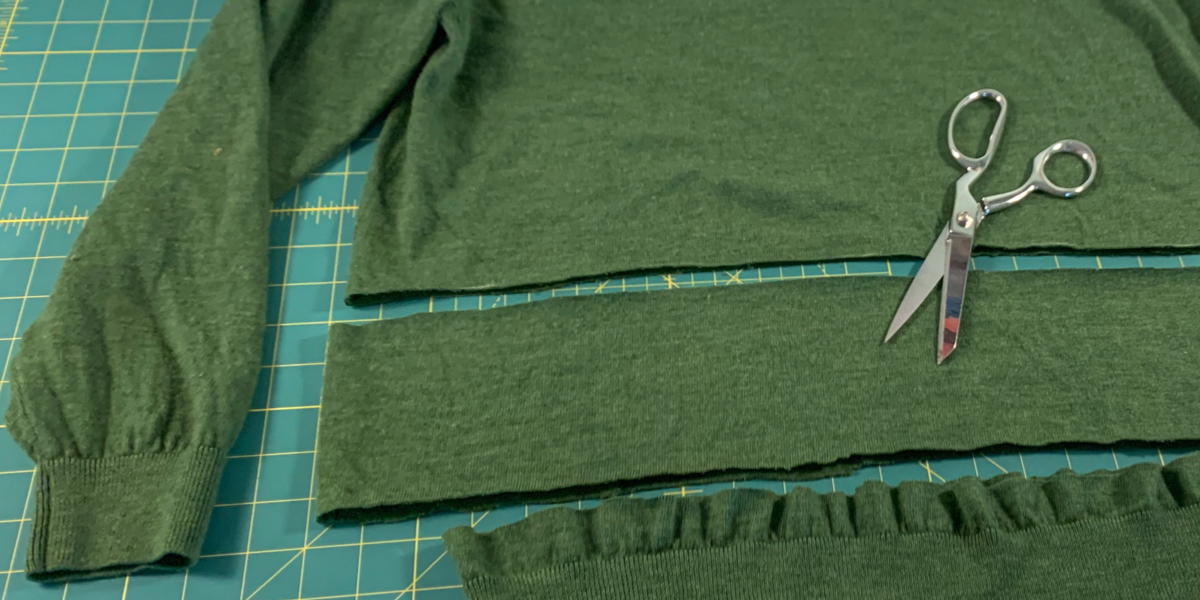 how to shorten a sweater featured image