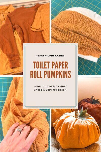 Toilet Paper Pumpkins:  Easy DIY Fall Decor 6