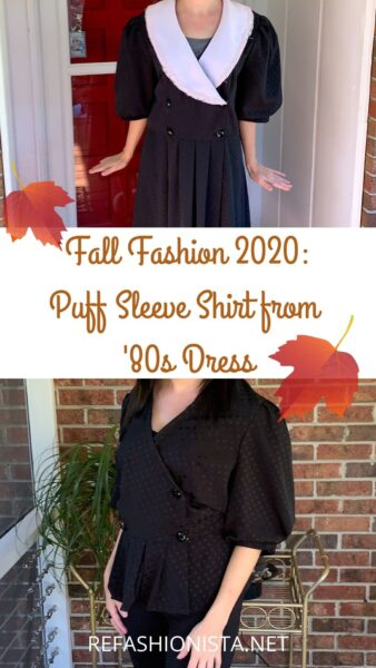 DIY Puff Sleeve Shirt: Refashion the Trend 8