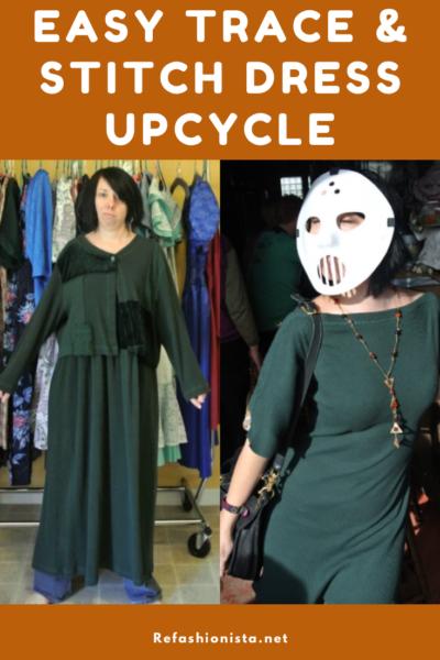 Trace & Stitch Dress Refashion 6