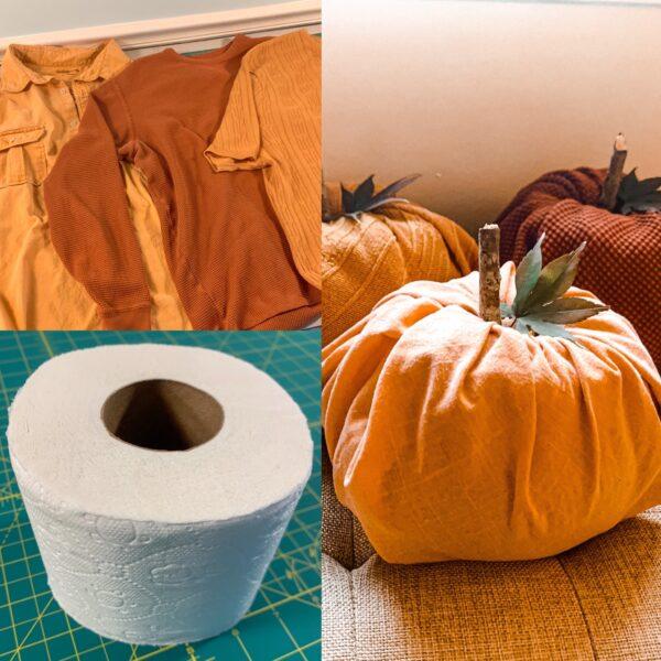 Toilet Paper Pumpkins:  Easy DIY Fall Decor 7