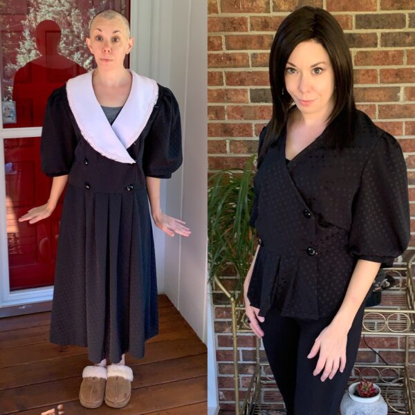 DIY Puff Sleeve Shirt: Refashion the Trend 13