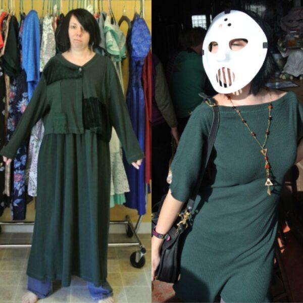 Trace & Stitch Dress Refashion 8